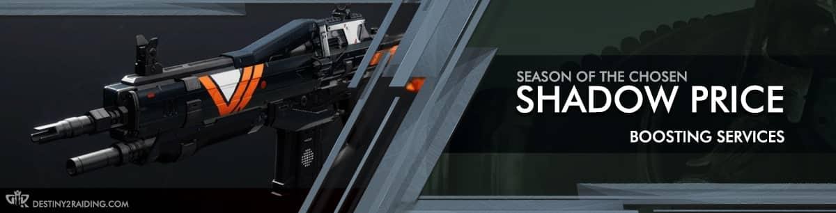 Destiny 2 Season of the Chosen - Shadow Price Auto Rifle Boosting services-min