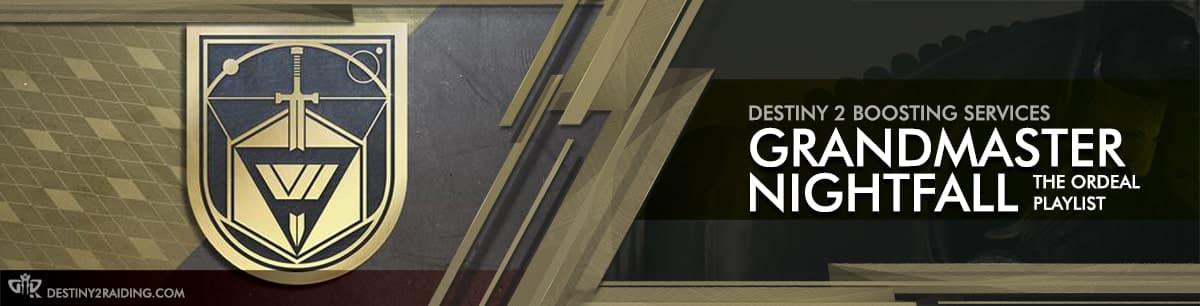 Destiny 2 Boosting - Grandmaster Nightfall Carry & Recovs-min