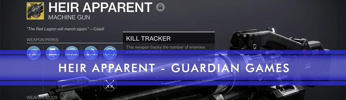HEIR APPARENT guardian games carry
