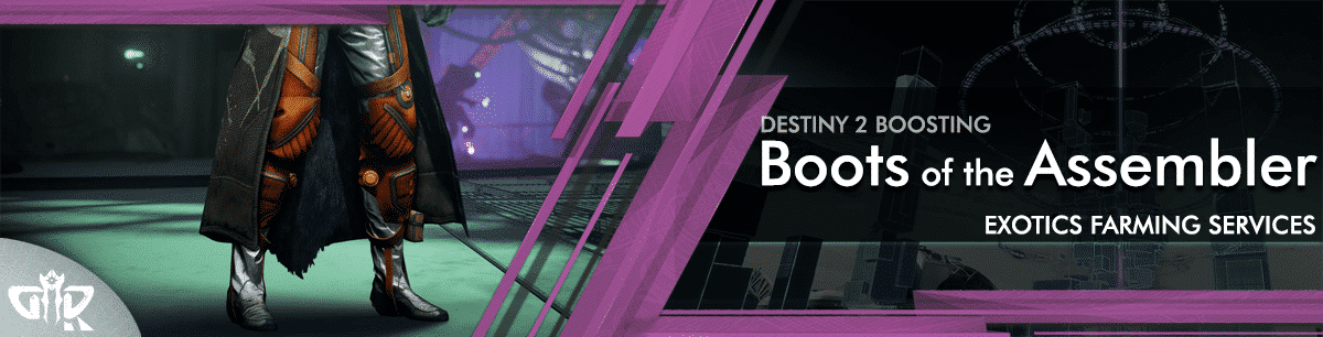 Destiny 2 Boosting - Boots of the Assembler carry & recovs