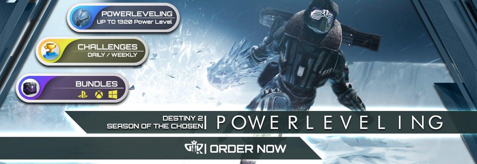 Destiny 2 Boosting - Power leveling 1320 PL Boost