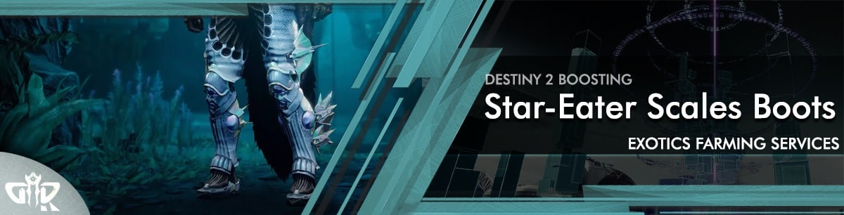Destiny 2 Boosting - Star-Eater Scales Exotic Boots carry & Recovs