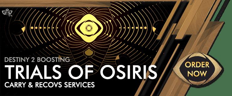 Destiny 2 Boosting - Trials of Osiris carries