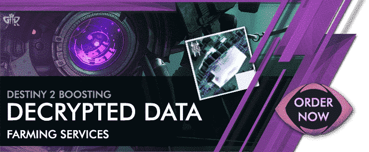 Destiny 2 Boosting - decrypted data Farming Services