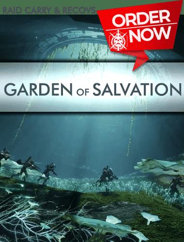 Destiny 2 Raid Carry - Garden Of Salavation Carry