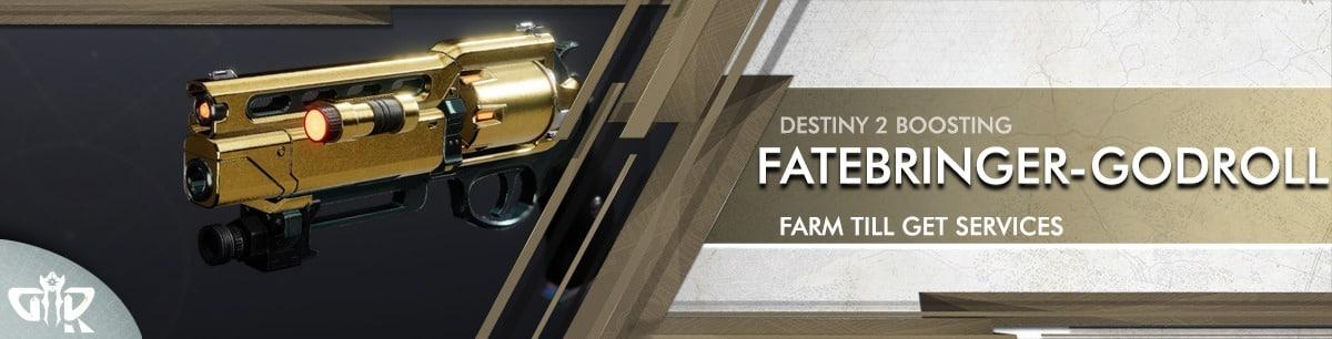Destiny 2 Boosting - Fatebringer God Roll Farming services