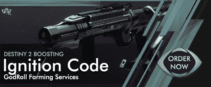 Destiny 2 Boosting - Ignition Code God Roll Order Now